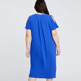 CORETTA DRESS | Santorini Blue