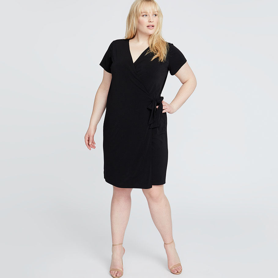 ALLIE WRAP DRESS | ALLIE WRAP DRESS