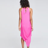 SANTORINI SCARF DRESS | PARTY PINK