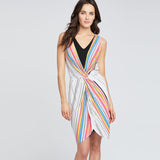 RAINBOW PLEAT DRESS | RAINBOW PLEAT DRESS