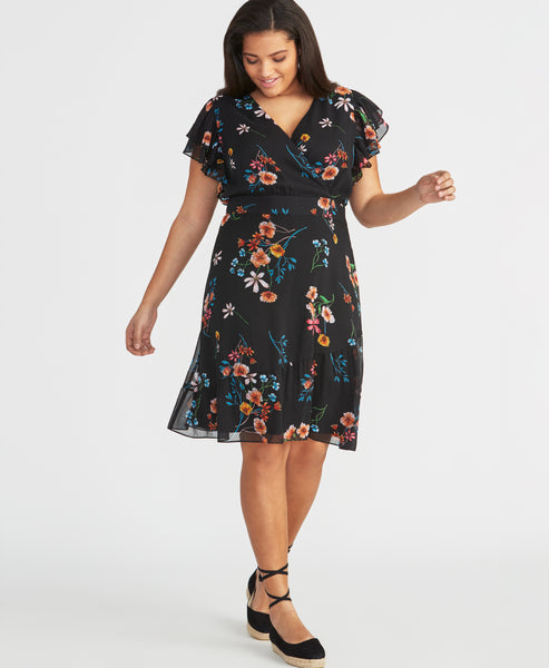 EASY CROSSOVER DRESS