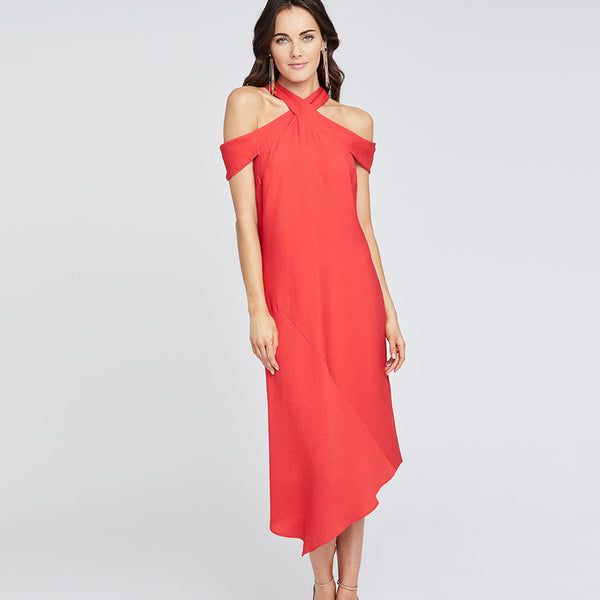CAPRI DRAPE DRESS