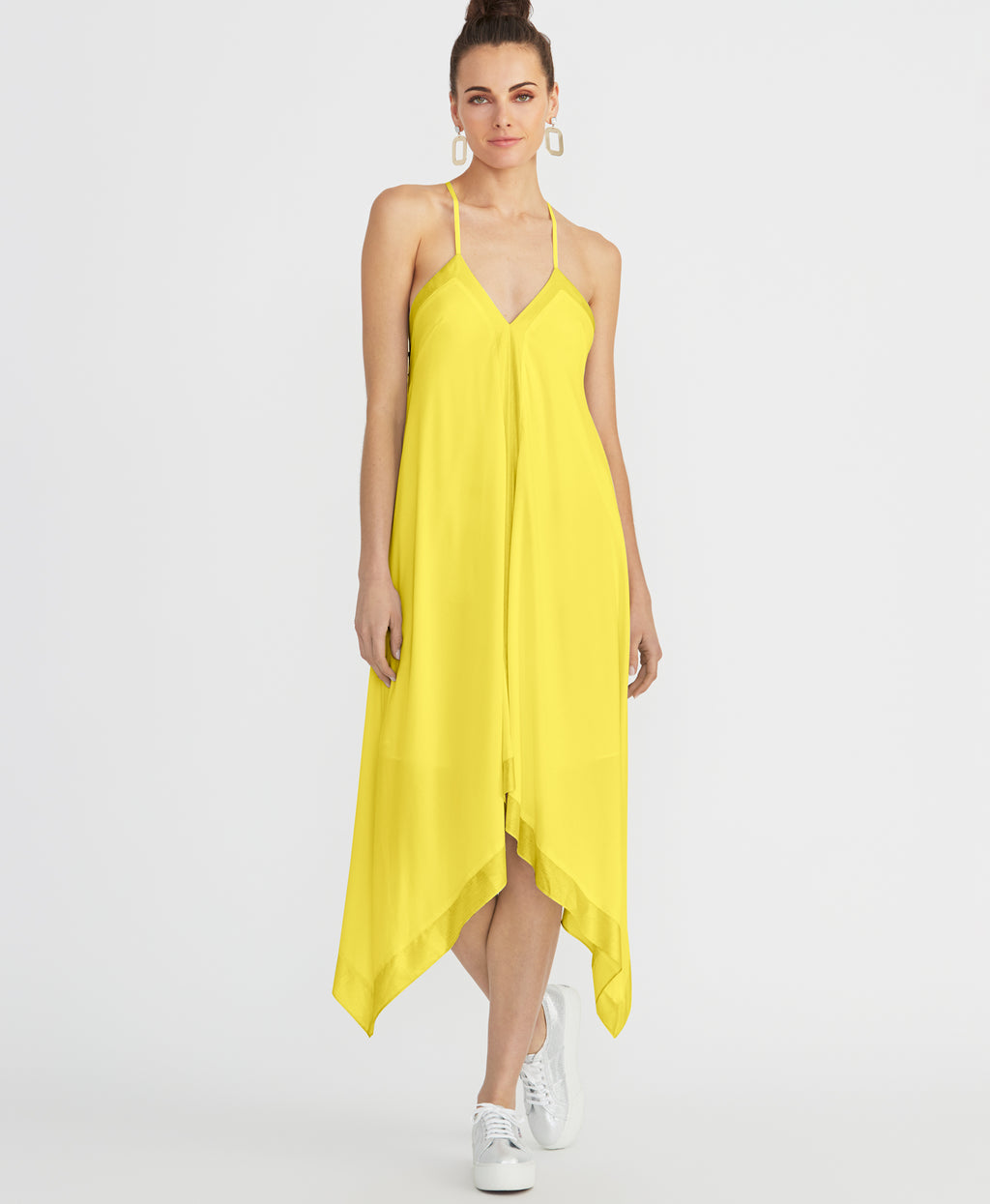 MADDELENA SCARF DRESS | SUNSHINE