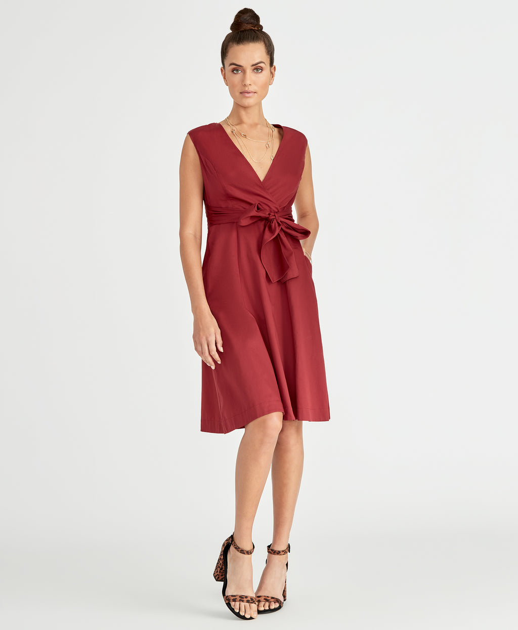 Pearl Dress | Black Cherry