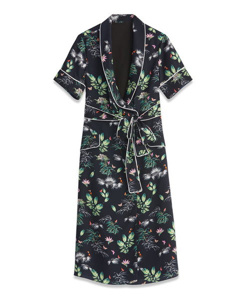 Forest Wrap Dress