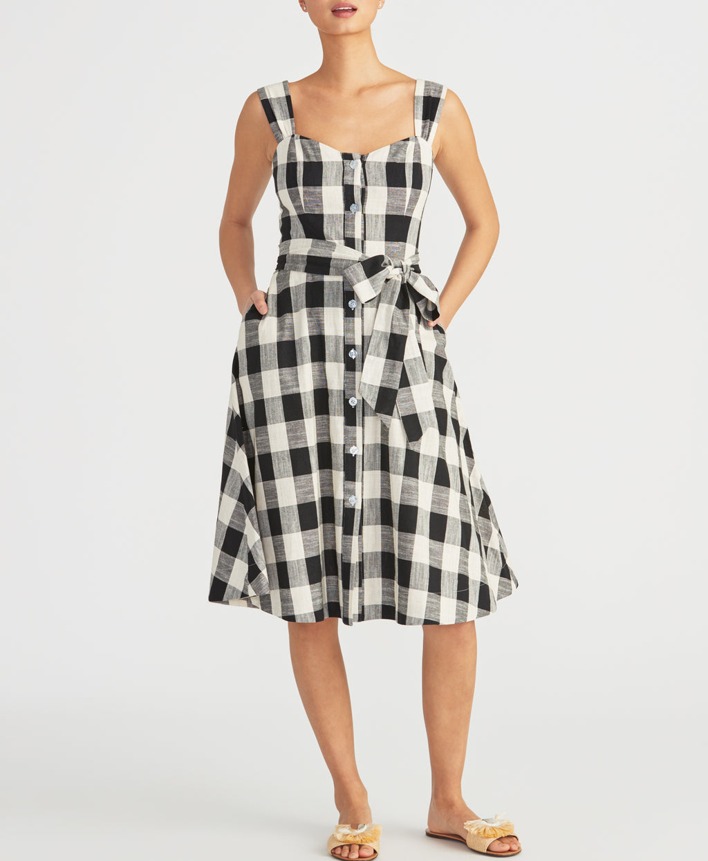 GINGHAM SUNDRESS | GINGHAM SUNDRESS