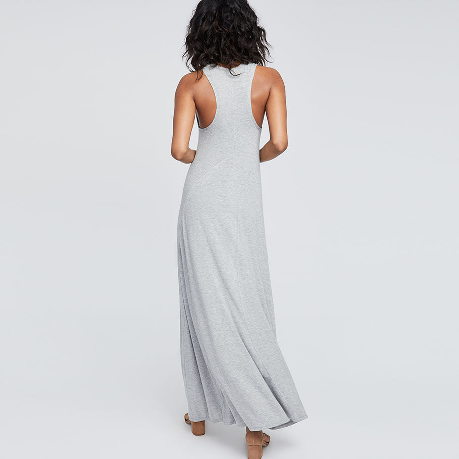 CURVED SEAM MAXI DRESS | CURVED SEAM MAXI DRESS