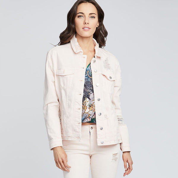 CARNATION DESTRUCTED JACKET