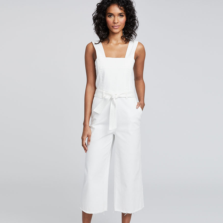 WIDE LEG CROPPED JUMPSUIT | WIDE LEG CROPPED JUMPSUIT