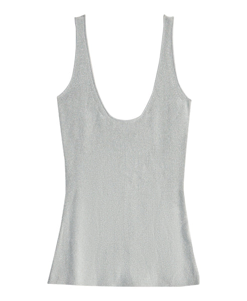 Metallic Sweater Tank