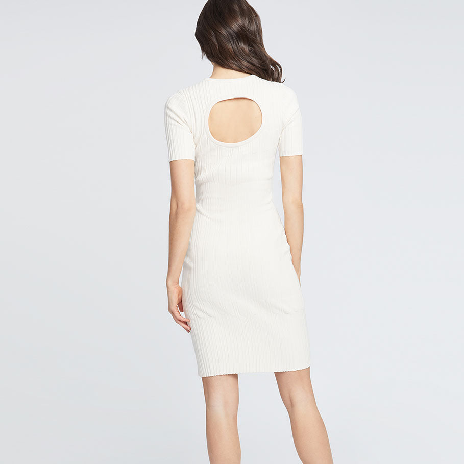 TAEA DRESS | ALMOND MILK