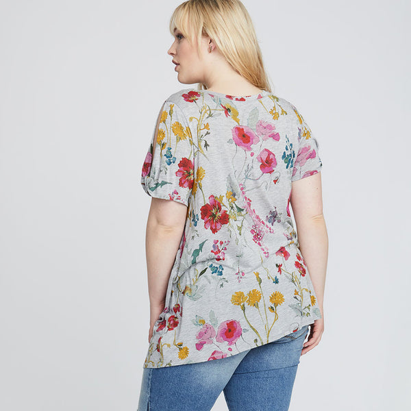 ROMA FLORAL TEE