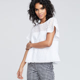 PUPETTO RUFFLE TOP | PUPETTO RUFFLE TOP