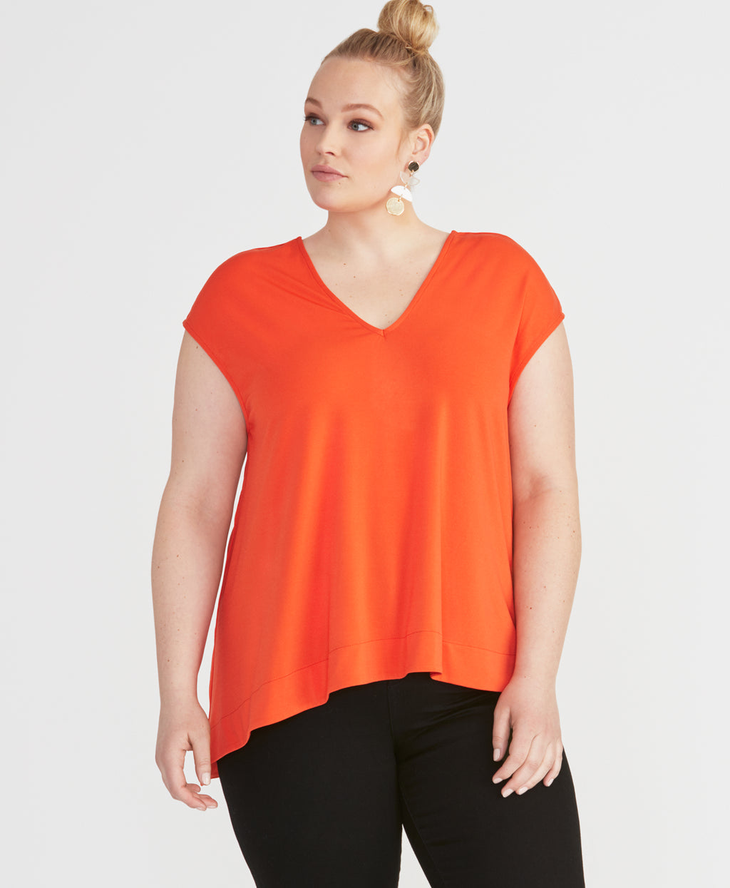 Bina Top | Radiant Red