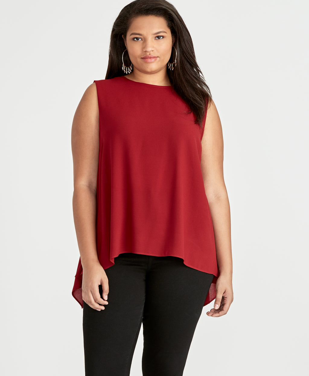 Raeni Top | Black Cherry