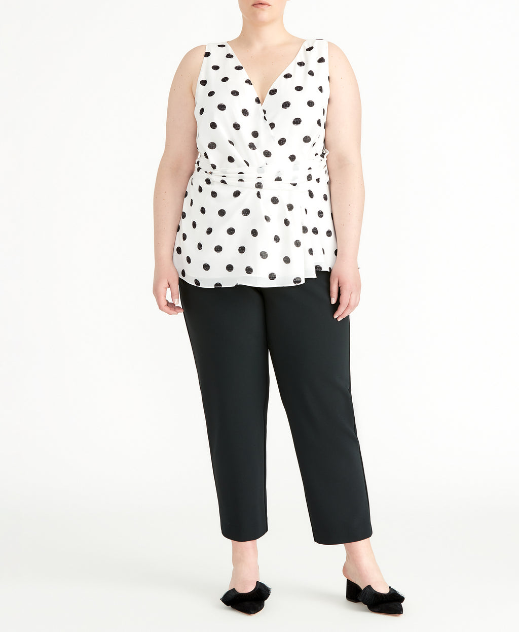 Polka Dot Twist Tank | Polka Dot Twist Tank