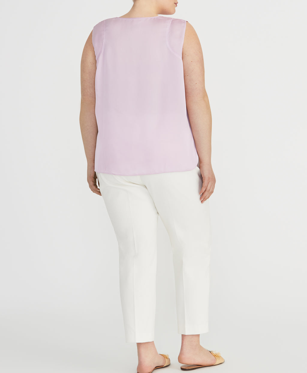 Easy Paneled Tank | Lilac