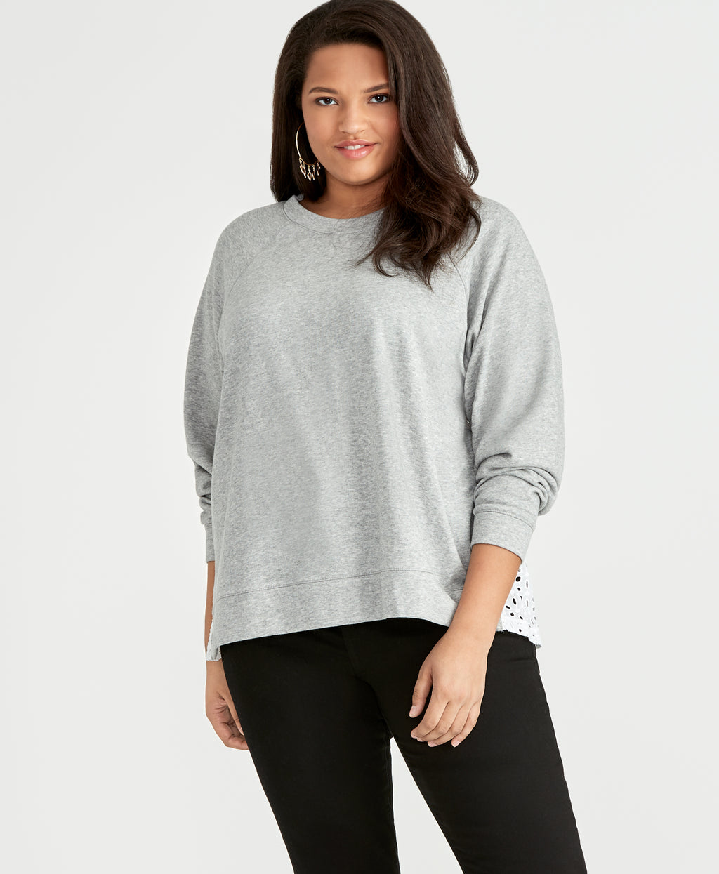 Moana Top | Heather Grey