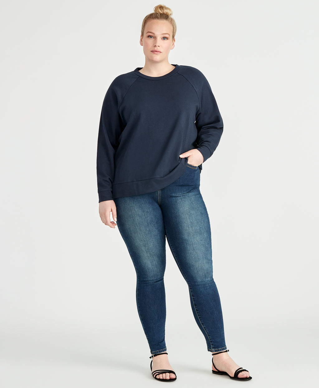 Moana Top | Navy