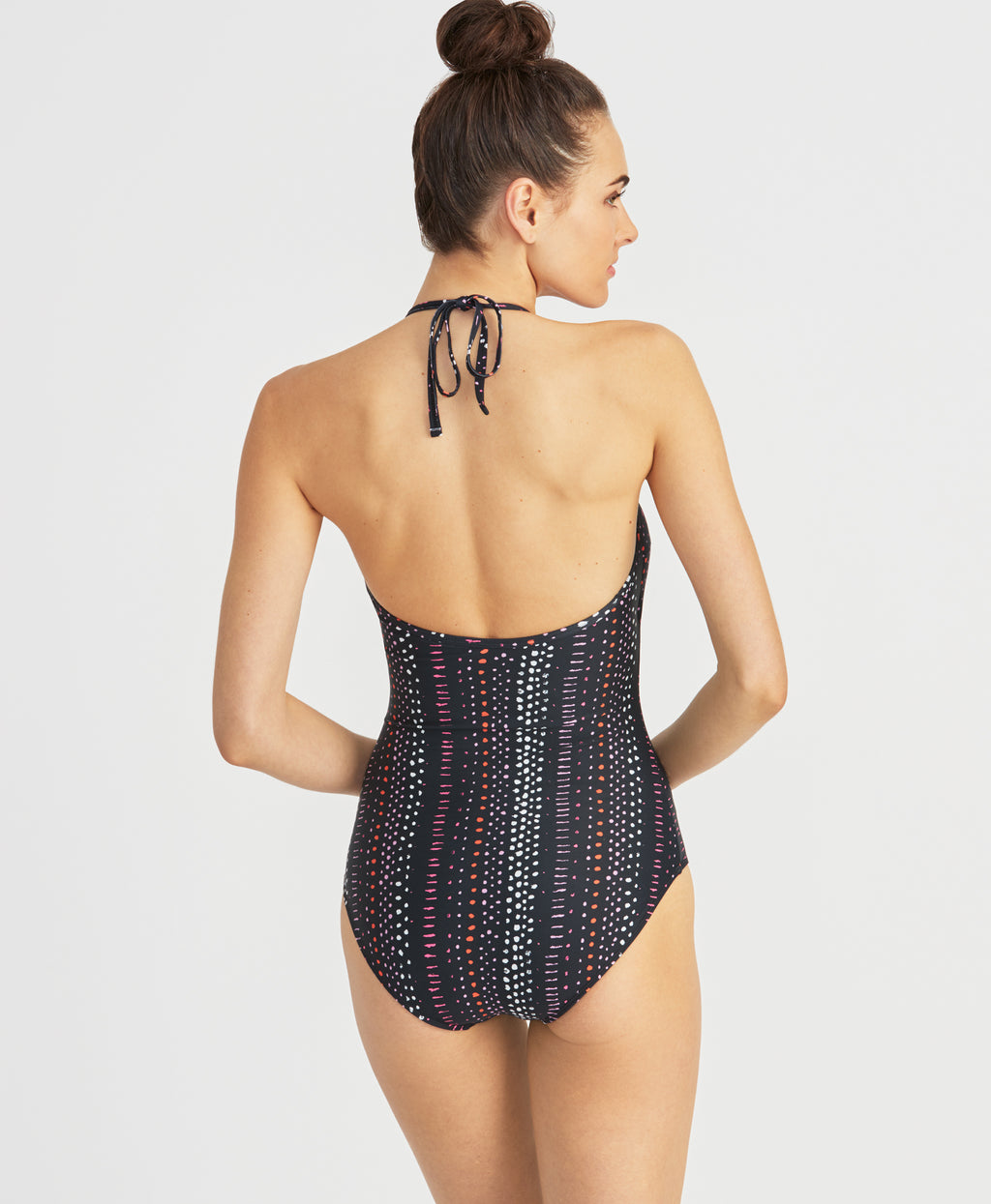Dot Dash One Piece | Dot Dash Black