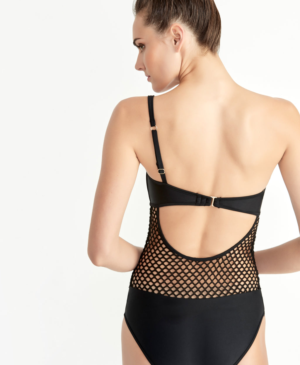 Black Mesh One Piece | Black Mesh One Piece