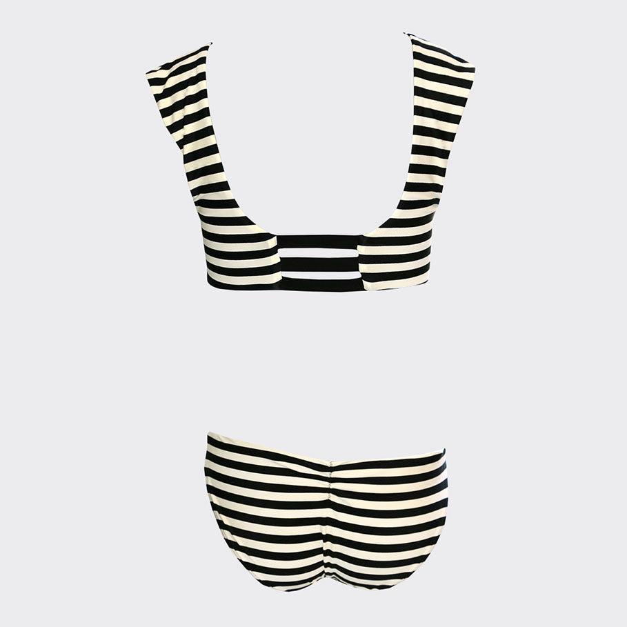 STRIPED DELILAH SUIT | STRIPED DELILAH SUIT