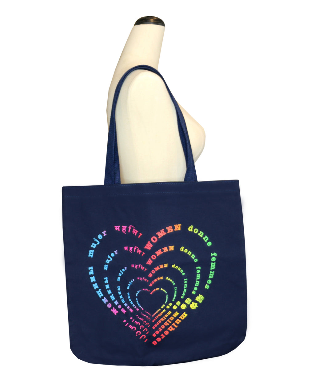 Rainbow Women Tote - Supports World Of Children | Rainbow Women Tote - Supports World Of Children