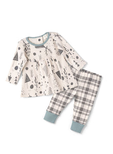 Baby Girl Winter Woods Set