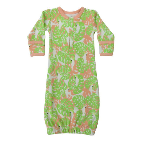 Cat & Dogma Tropical Camo Gown