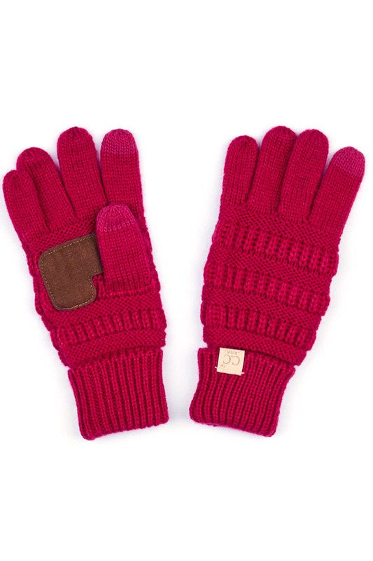 C.C Kids Knit Gloves