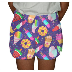 Sweet Treats Fuzzy Shorts