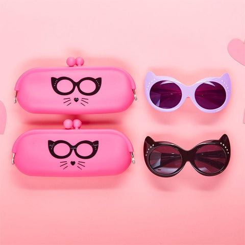 Cat Sunglasses & Case