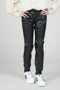 Molly Shimmer Leather Pants