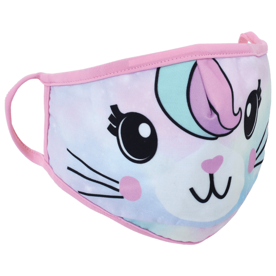 Kids Caticorn Reversible Face Mask