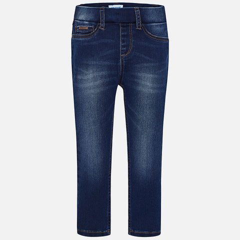 Mayoral Denim Pull-On Jeggings