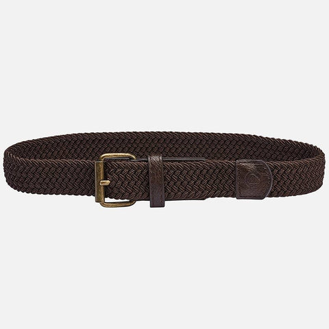 Mayoral Solid Braided Elastic Belt