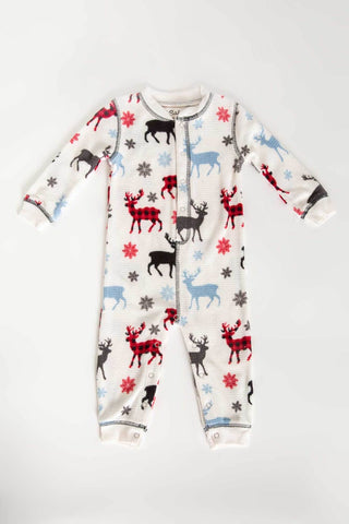"PJ Salvage ""Snowed In"" Romper"