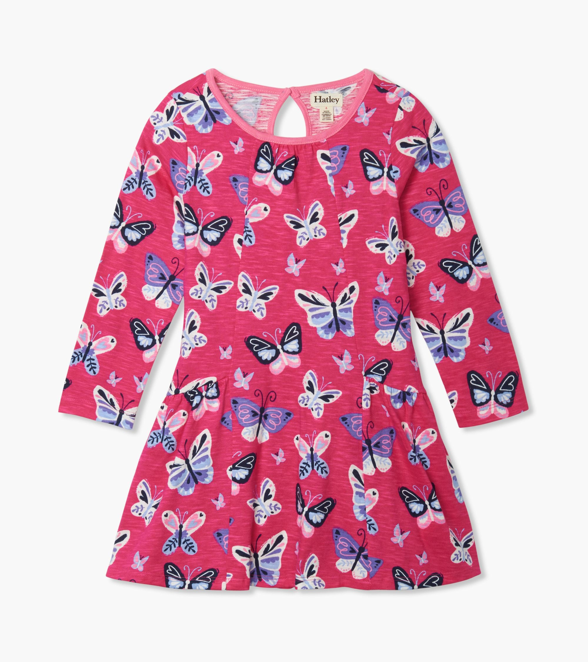 Hatley Butterfly Flounce Dress