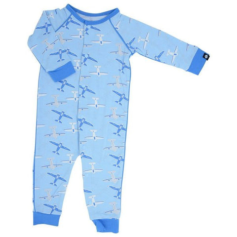 Sweet Bamboo Airplanes Romper