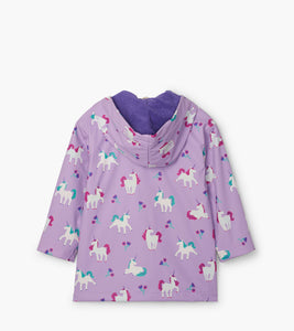 Playful Unicorns Color Changing Raincoat