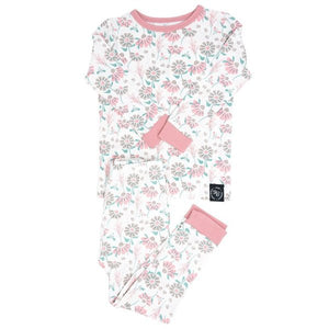 Sweet Bamboo Retro Flower PJ Set