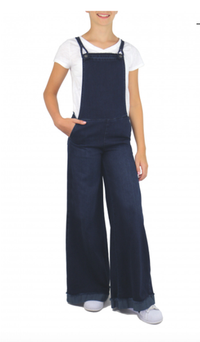 Tractr Wide Leg Overall