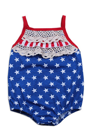 Independence Day Baby Romper