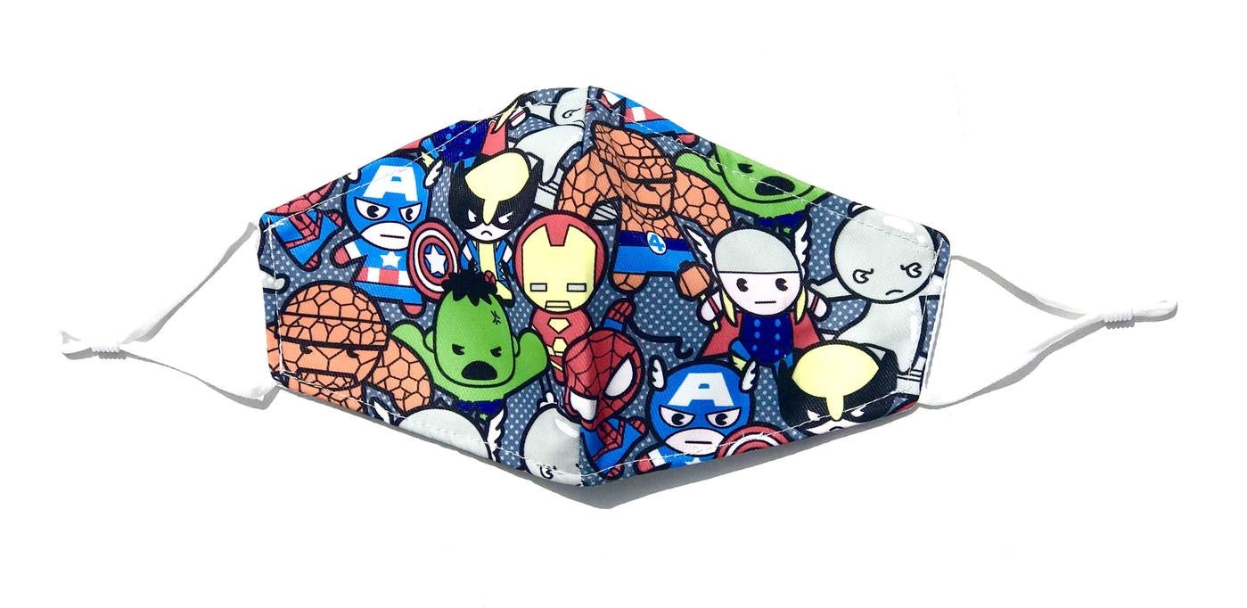 Kids Marvel Face Mask