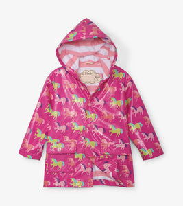 Mystical Unicorns Color-Changing Raincoat