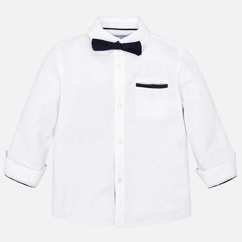 Mayoral Boy Elbow Patch Shirt