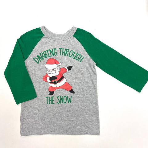 """Dabbing Through the Snow"" Tee"