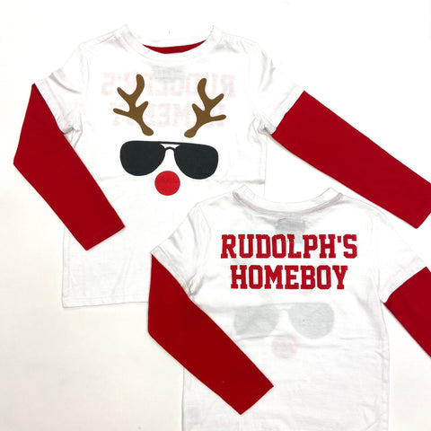 Crumbs Rudolph's Homeboy Tee