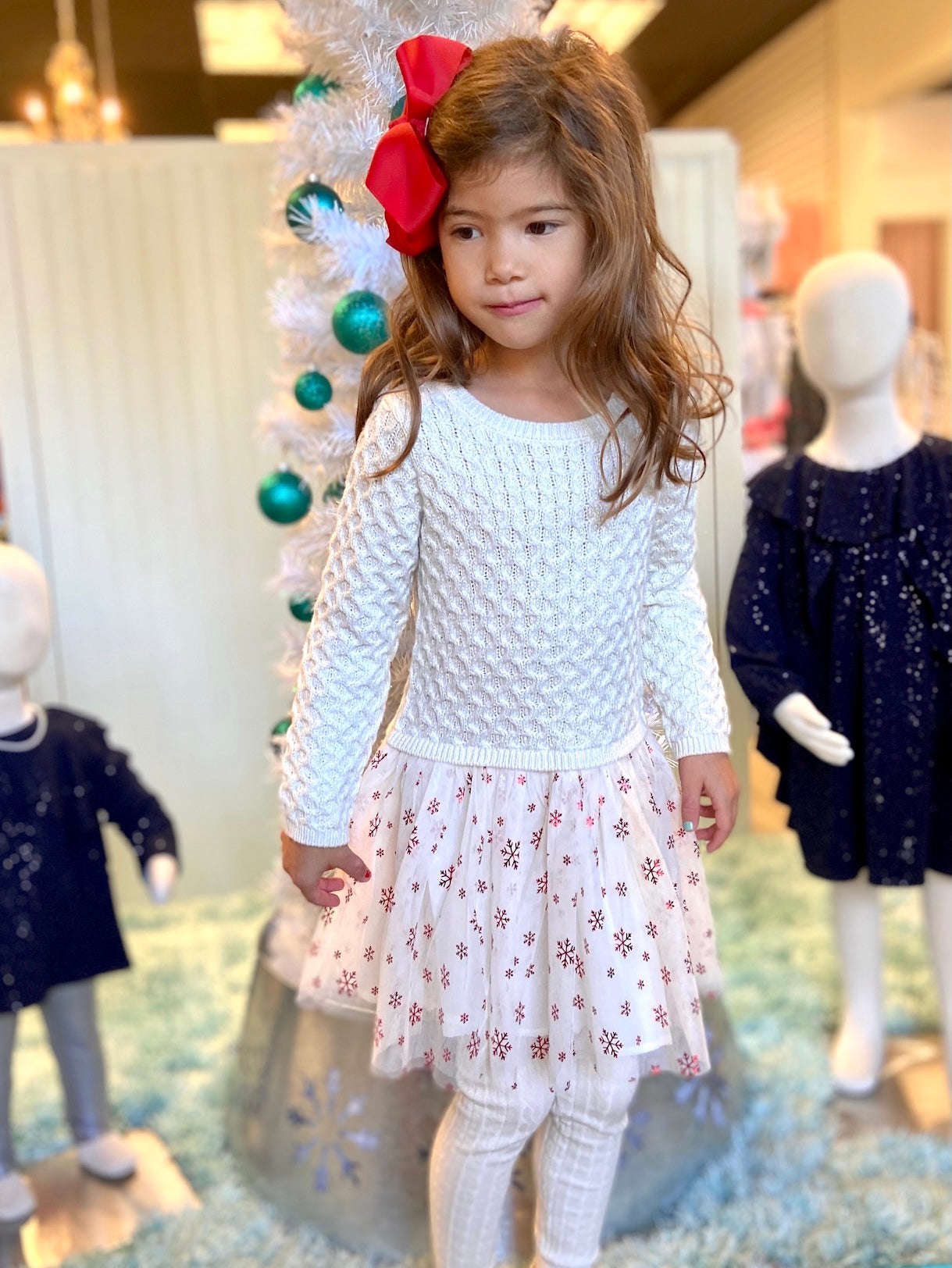 Hatley Metallic Snowflakes Dress