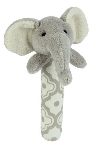 Emerson the Elephant Stick Rattle